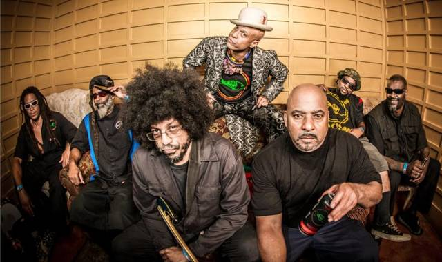 COURTESY PHOTO                                 The band Fishbone is seen above. CeeLo Green, Maxi Priest and Fishbone are among the headliners scheduled to appear at Ocean Aid on Sunday.